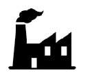 産業廃棄物 工場ロゴ